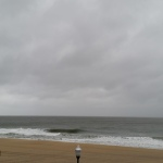 O.C._Ocean City_stormy beach 1st of 2_2014_10_22